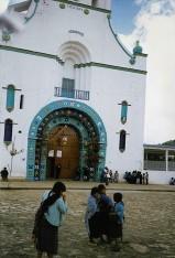 San Juan Chamula - la chiesa (foto:bnx)