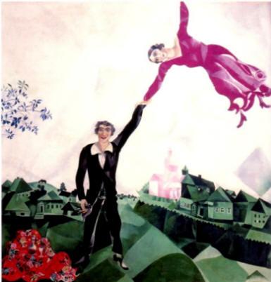 Marc Chagall - Promenade - 1917